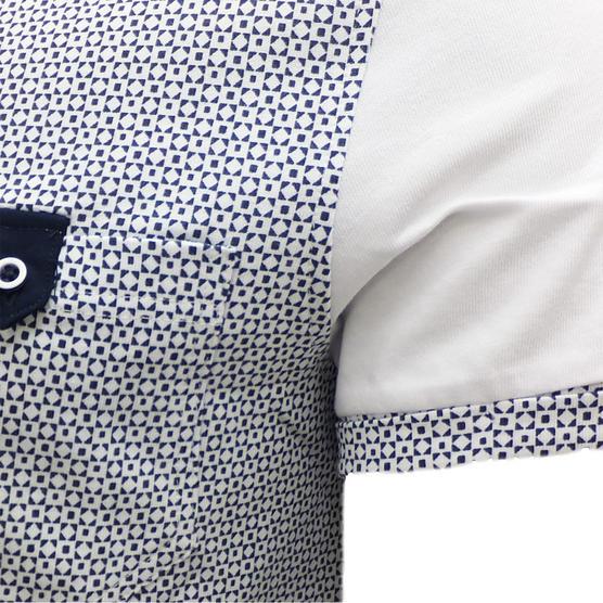Bewley Ritch Mens T-Shirt - Pattern Pocket T Shirts 'Faxton' Thumbnail 2