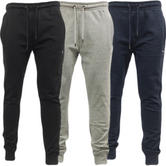Twisted Faith Tapered Leg Jogger Sweatpant Bottoms