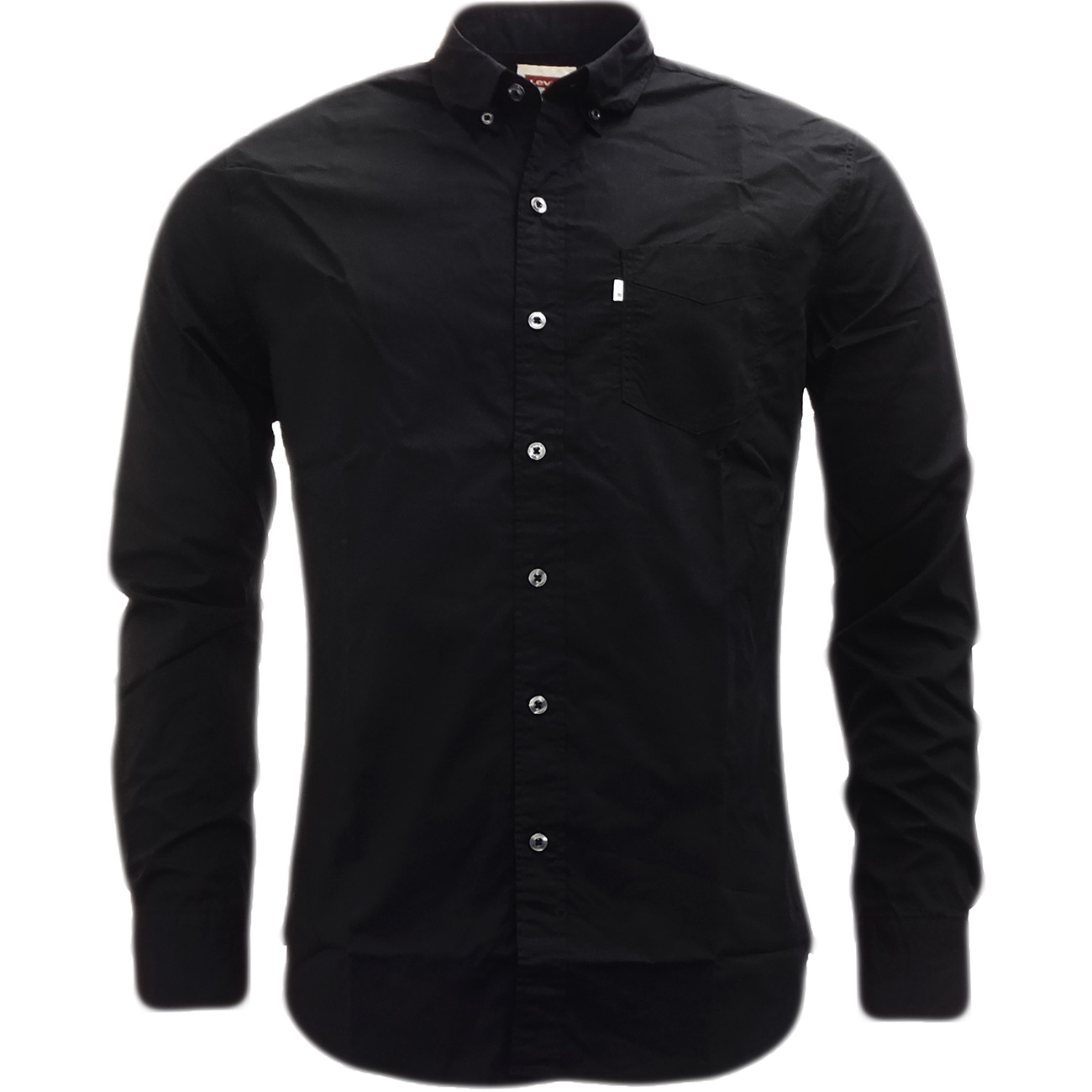 Mens Levi Strauss Plain Long Sleeve Shirt New Levi's Shirts