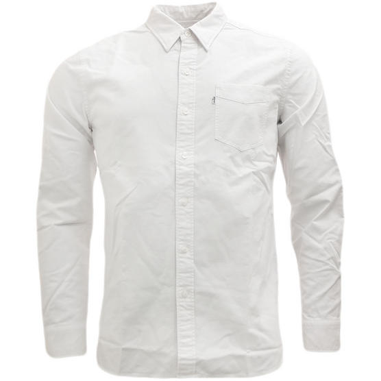 Levi Strauss Plain Long Sleeve Shirt Thumbnail 4