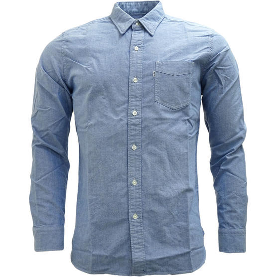 Levi Strauss Plain Long Sleeve Shirt Thumbnail 6