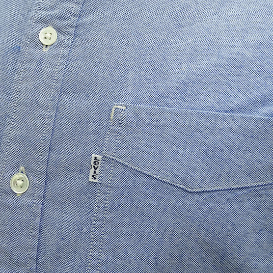 Levi Strauss Plain Long Sleeve Shirt Thumbnail 8