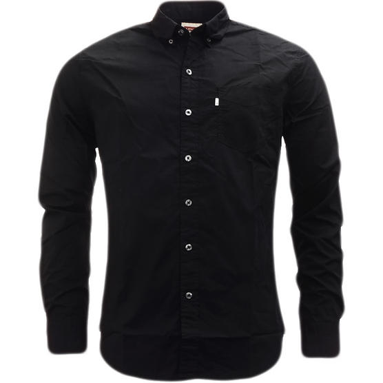 Levi Strauss Plain Long Sleeve Shirt Thumbnail 2