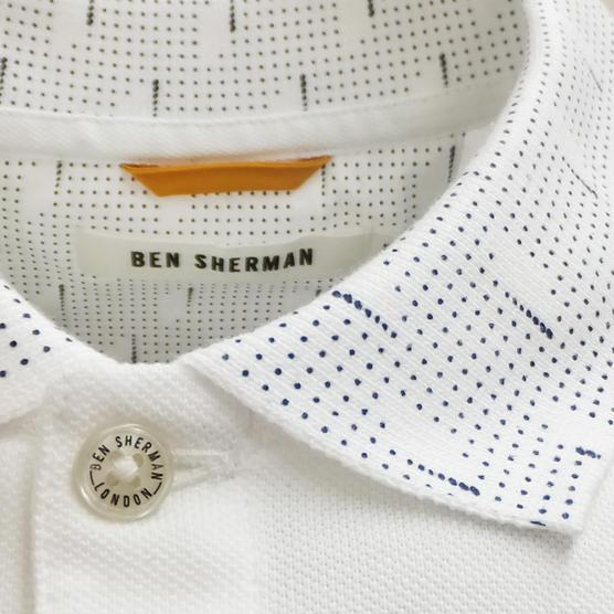 Ben Sherman Plain Polo Shirt Thumbnail 3