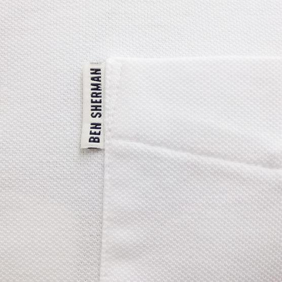 Ben Sherman Plain Polo Shirt Thumbnail 4