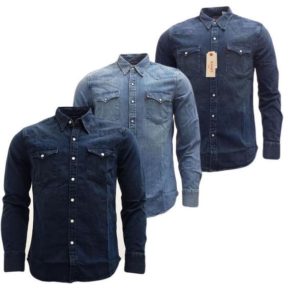Mens Shirts Levi Strauss Long Sleeve Denim Shirt Thumbnail 1