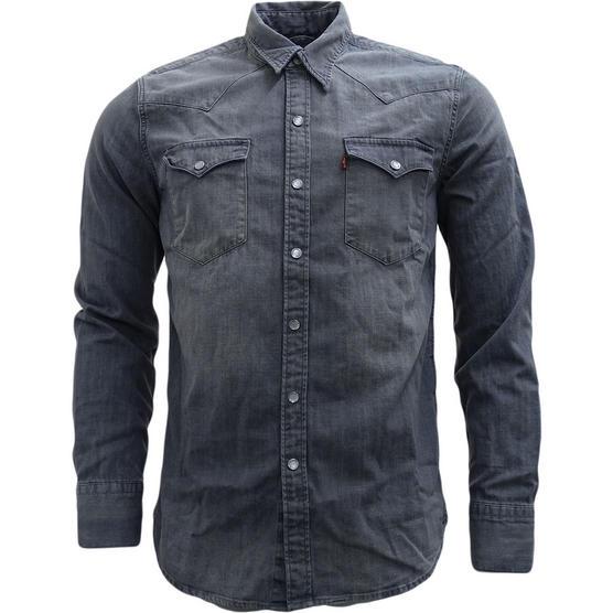 Mens Shirts Levi Strauss Long Sleeve Denim Shirt Thumbnail 3