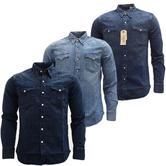 Mens Shirts Levi Strauss Long Sleeve Denim Shirt