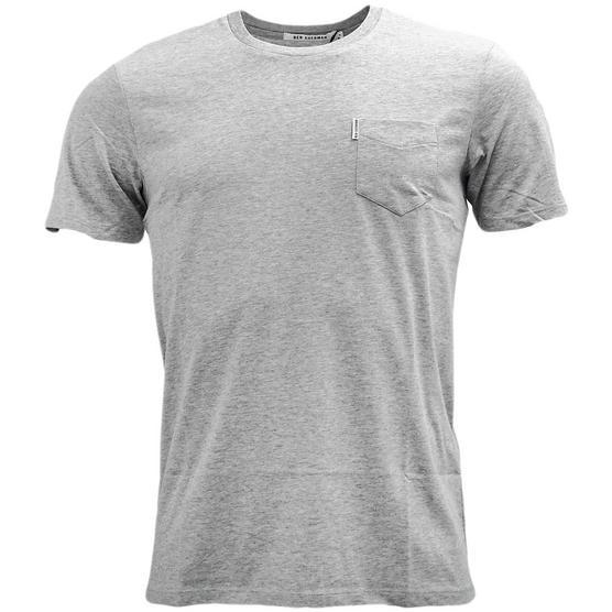 Mens T-Shirts Ben Sherman Plain T Shirt Top Pocket Lightweight Thumbnail 3
