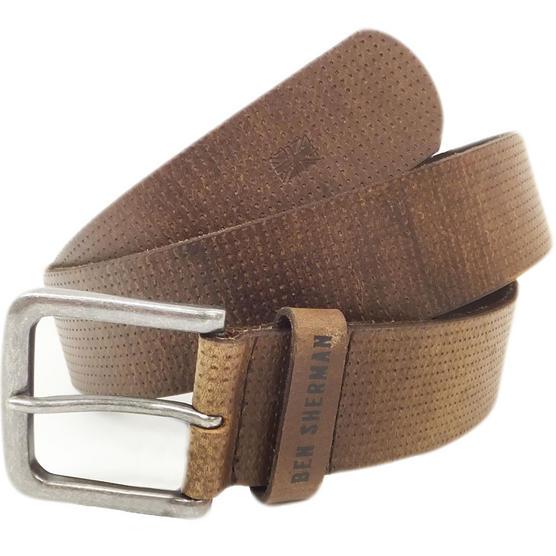 Ben Sherman Dotted Leather Belt Thumbnail 4
