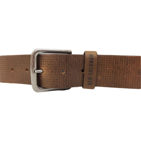 Ben Sherman Dotted Leather Belt Thumbnail 5