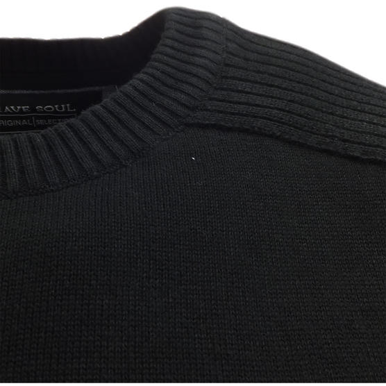 Brave Soul Knitted Jumper 'Persian' Thumbnail 4