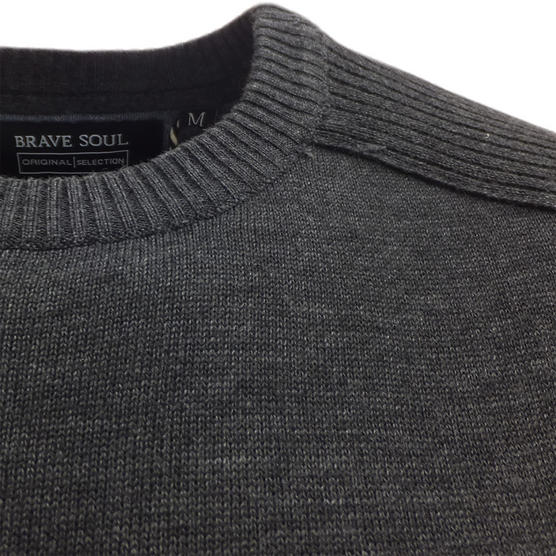Brave Soul Knitted Jumper 'Persian' Thumbnail 8
