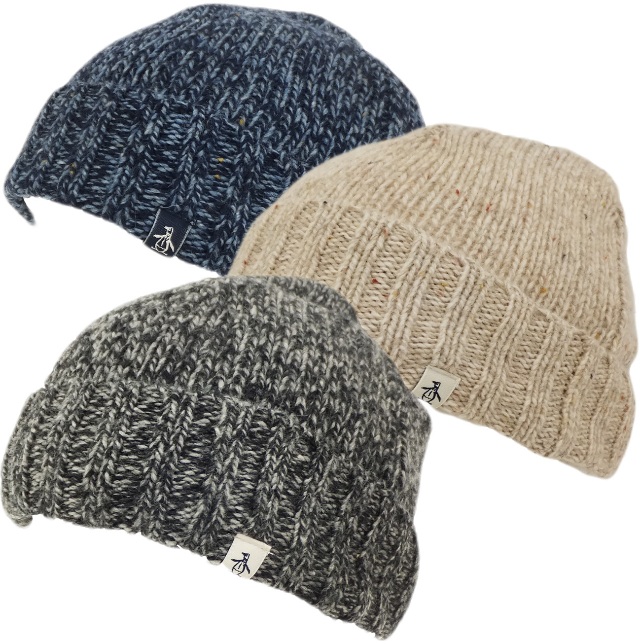 Mens Hats Original Penguin Beanie Winter Headwear Ebay