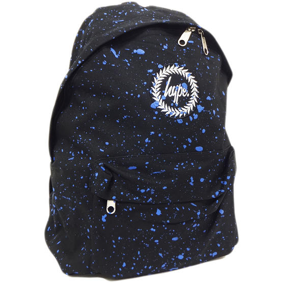 Just Hype Backpack Bag - Paint Splash Design Thumbnail 4