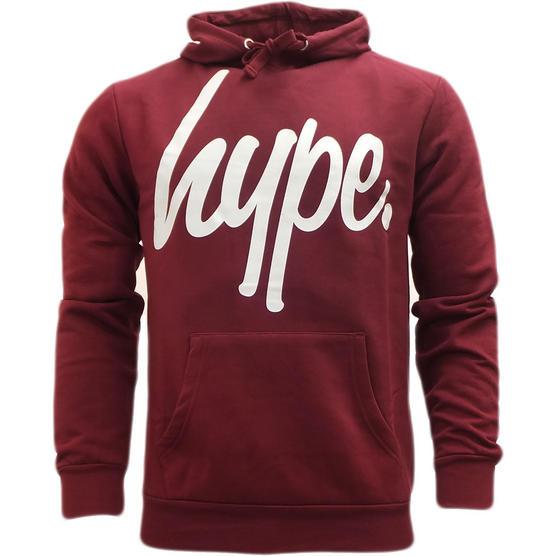 Just Hype Hoodie Sweatshirt Jumper - Script Hype Logo Thumbnail 2