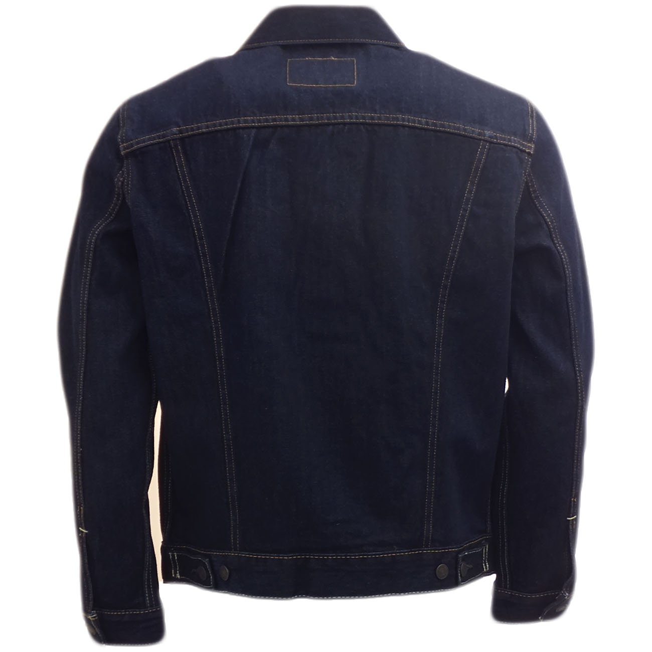 mens jean jacket levi strauss jeans mantel indigo. Black Bedroom Furniture Sets. Home Design Ideas