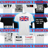 Custom Design T Shirt