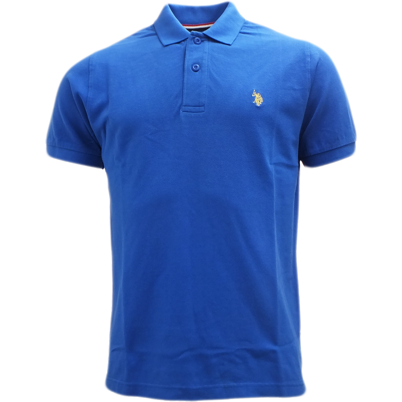 Mens polo shirt u s polo assn plain polos horse logo for Order polo shirts with logo