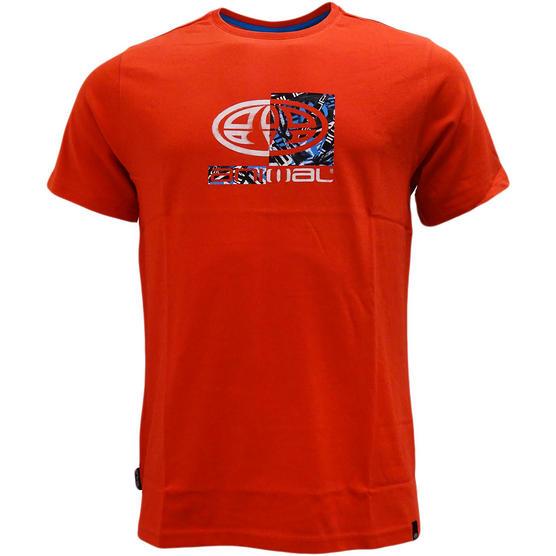 Mens Animal T Shirt with Printed Logo Back - Regular Fit Thumbnail 2