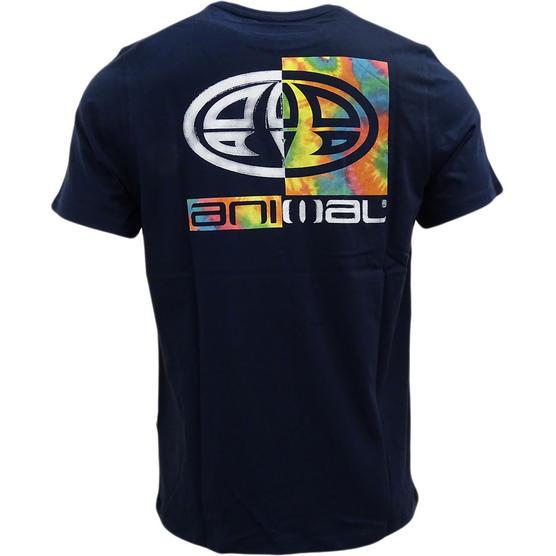 Mens Animal T Shirt with Printed Logo Back - Regular Fit Thumbnail 5