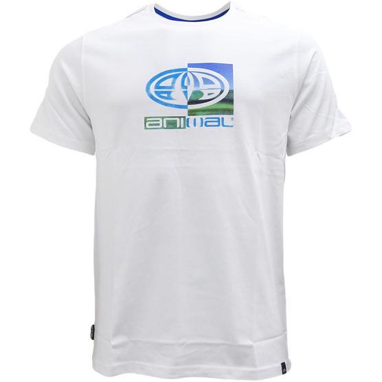 Mens Animal T Shirt with Printed Logo Back - Regular Fit Thumbnail 6