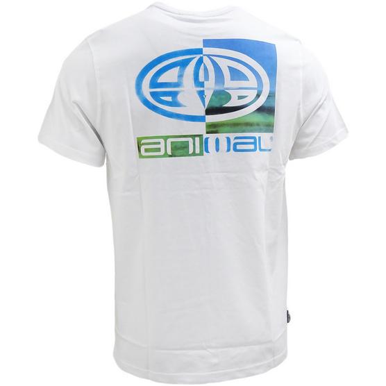 Mens Animal T Shirt with Printed Logo Back - Regular Fit Thumbnail 7