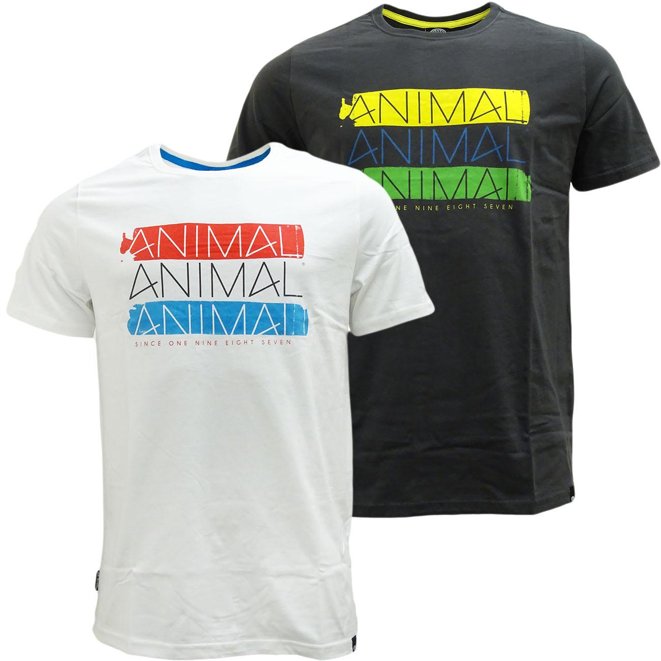 Animal T Shirt - Short Sleeve Custom Fit T-Shirts by Animal