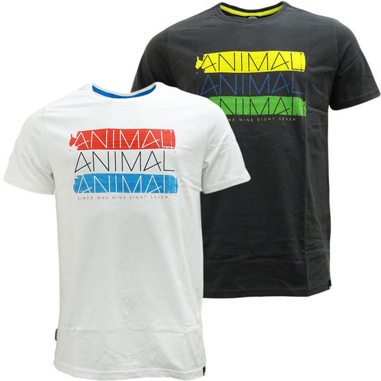 Animal T Shirt - Short Sleeve Custom Fit T-Shirts by Animal Thumbnail 1