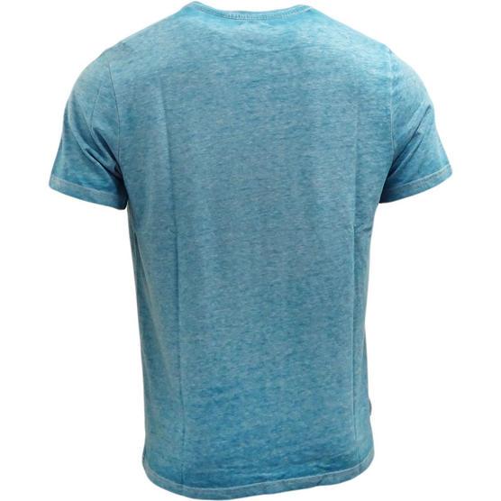 Mens Animal T Shirt Fadded Dye Effect- Regular Fit Thumbnail 3