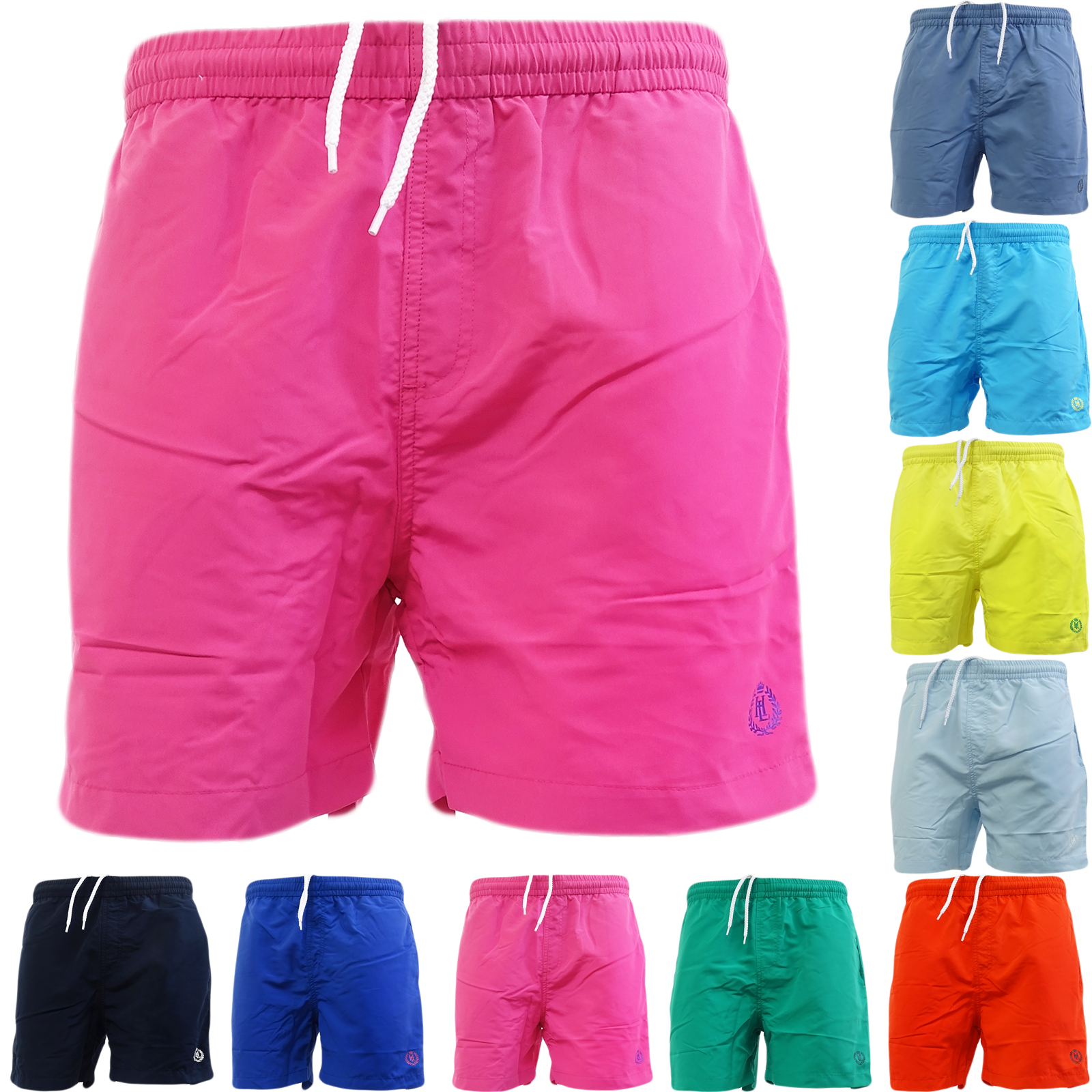 Henri Lloyd Plain Mesh Lined Swim Short Shorts Brixham