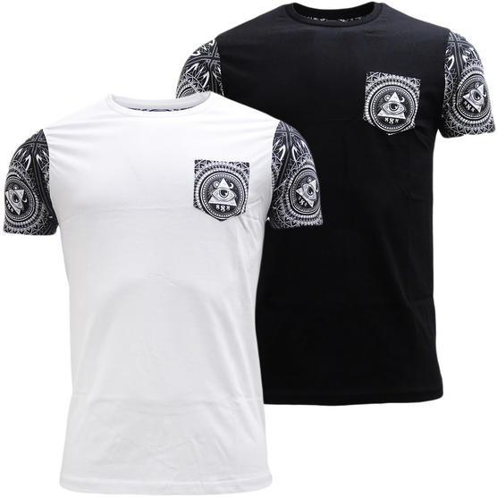 Brave Soul Short Sleeve T-Shirt 'Limonov' Thumbnail 1