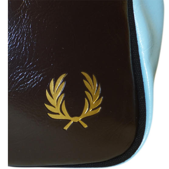 Fred Perry Record Bag Chocolate Thumbnail 3