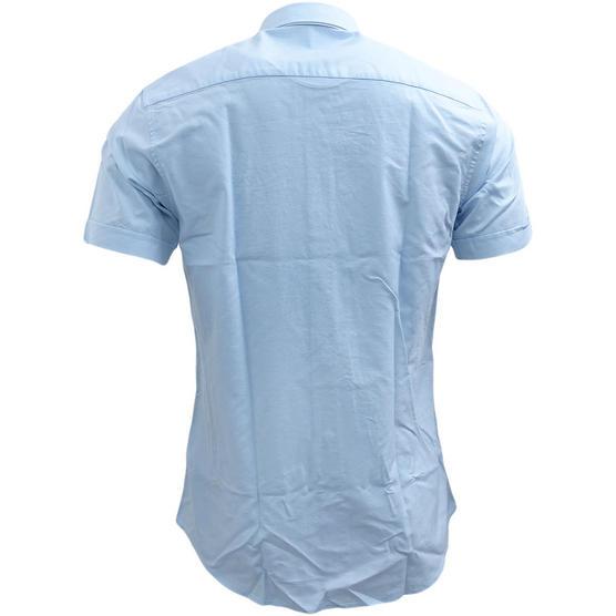Henri Lloyd Plain Short Sleeve Oxford Shirt Thumbnail 3
