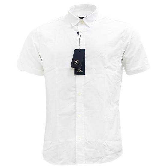 Henri Lloyd Plain Short Sleeve Oxford Shirt Thumbnail 4