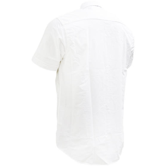 Henri Lloyd Plain Short Sleeve Oxford Shirt Thumbnail 5