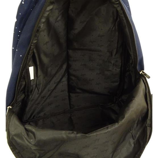 Hype Backpack Bag 'Splatter' Navy with White Thumbnail 3