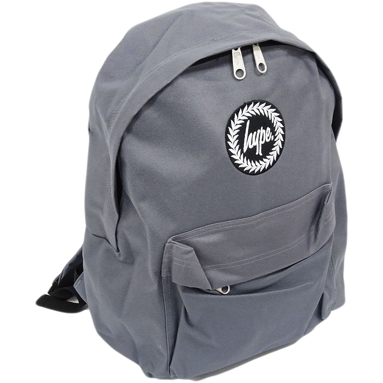 Hype Backpack Plain Charcoal Bag
