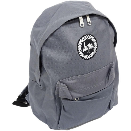 Hype Backpack Plain Charcoal Bag Thumbnail 1