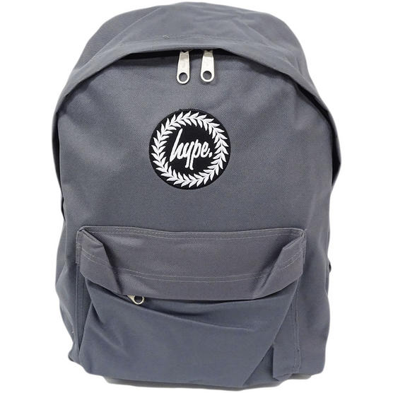 Hype Backpack Plain Charcoal Bag Thumbnail 2