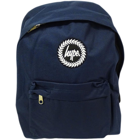Hype Backpack Plain Navy Bag Thumbnail 1