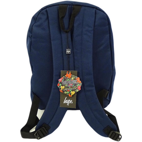 Hype Backpack Plain Navy Bag Thumbnail 2