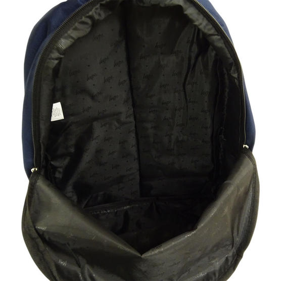 Hype Backpack Plain Navy Bag Thumbnail 3