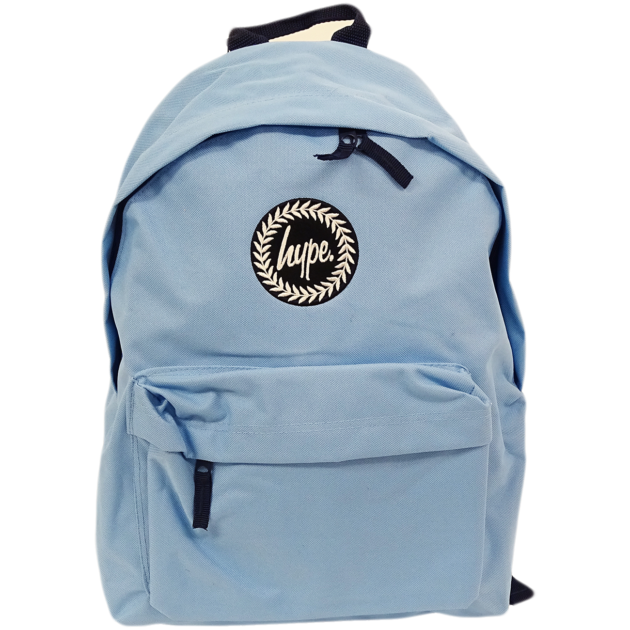 Just Hype Backpack Plain Pastel Blue Bag 5056120604364 32481502229b8