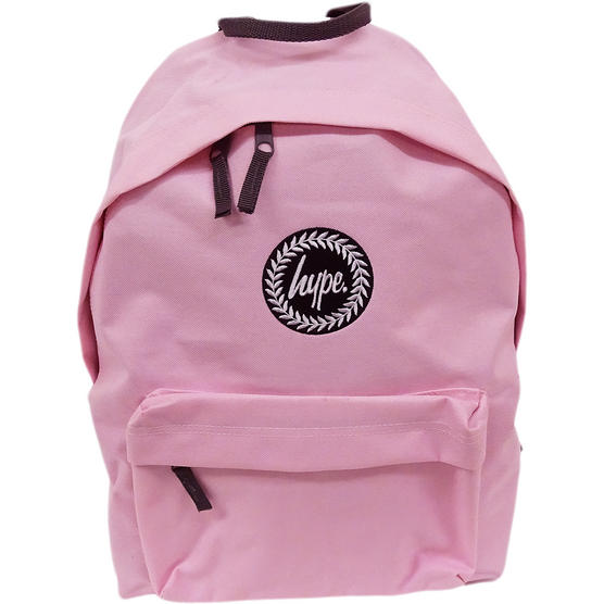 Hype Backpack Plain Baby Pink Bag Thumbnail 1