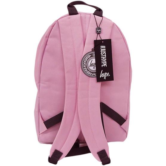 Hype Backpack Plain Baby Pink Bag Thumbnail 2