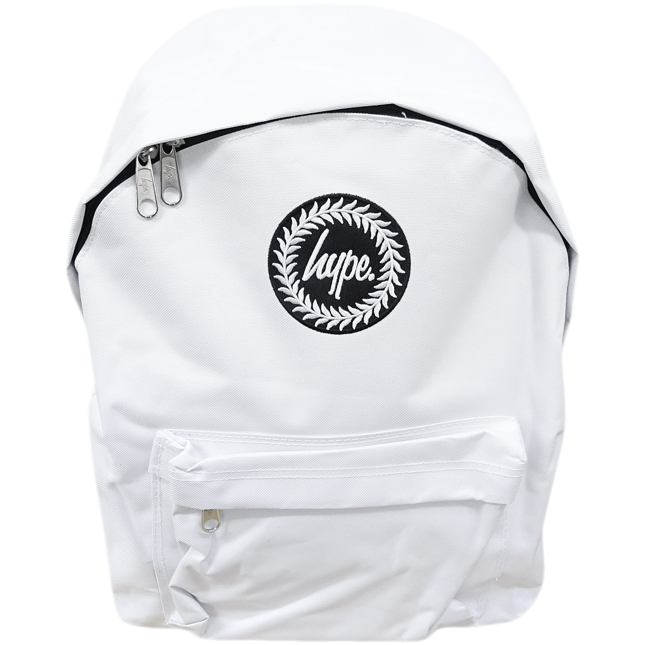 Hype Backpack Plain White Bag