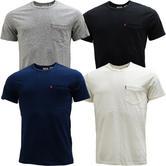 Levi Strauss Plain T-Shirt / Pocket Tee