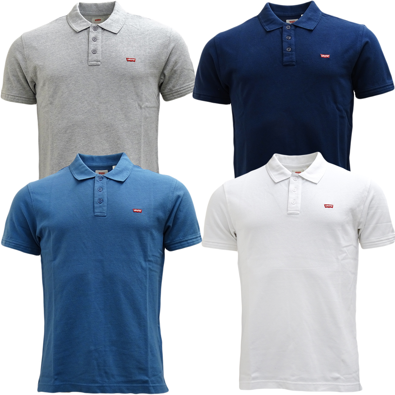 d1998fdc9a Sentinel Mens Levi Strauss Polo Shirt Smart   Casual Polo Top
