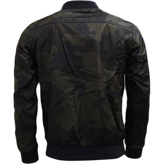 Brave Soul Camouflage Lightweight Jacket Khaki Thumbnail 2